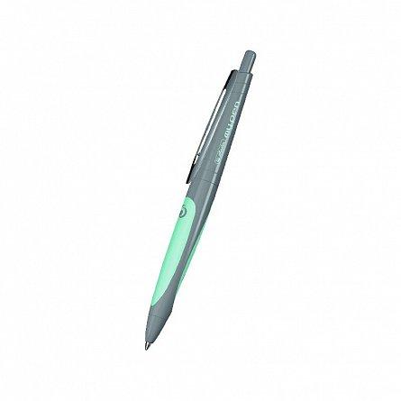 Pix cu gel My.Pen,corp gri/turcoaz