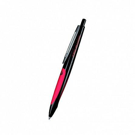 Pix cu gel My.Pen,corp negru/rosu