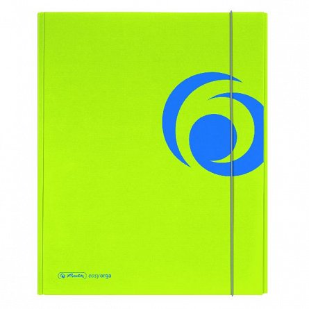Mapa A4,PP,XL,cu elastic,sporty lemon