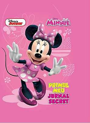 DISNEY. MINNIE. PRIMUL MEU JURNAL SECRET