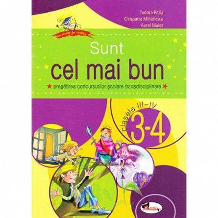 SUNT CEL MAI BUN CLS. III - IV - T. PITILA, C. MIHAILESCU, A. MAIOR