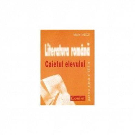 CAIET ELEV CLS. A VIII-A LITERATURA