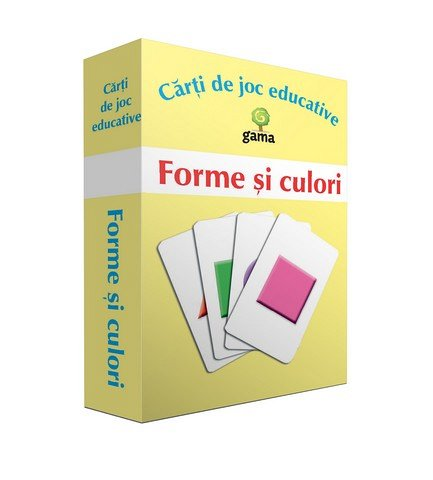 FORME SI CULORI / CARTI DE JOC EDUCATIVE