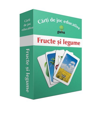 FRUCTE SI LEGUME / CARTI DE JOC EDUCATIVE