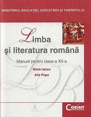 MANUAL CLS. A XII-A LB. SI LIT. ROMANA - IANCU 2014