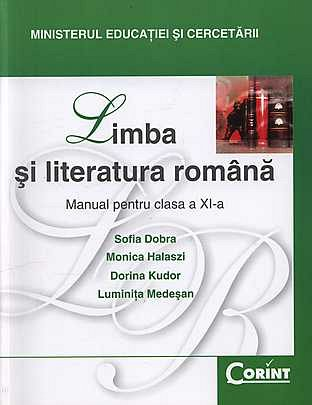 MANUAL CLS. A XI-A LB. SI LIT. ROMANA - DOBRA 2014