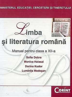 MANUAL CLS. A XII-A LB. SI LIT. ROMANA - DOBRA 2014