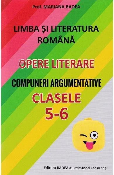 LIMBA SI LITERATURA ROMANA PT CL DE GIMNAZIU 5-6