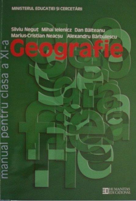GEOGRAFIE CLS A XI-A. MANUAL