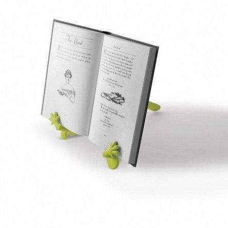 Suport carte/tableta, cu manute, Verde - Lime