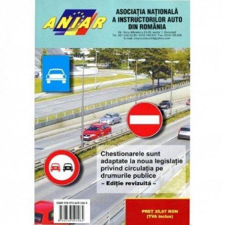 CHESTIONARE 2017 CATEGORIA B, PENTRU OBTINEREA PERMISULUI DE CONDUCERE AUTO