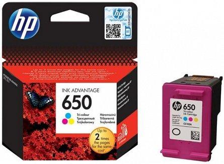 Cartus  HP Color Nr.650 Cz102Ae 5Ml Original Deskjet 2515 E-Aio