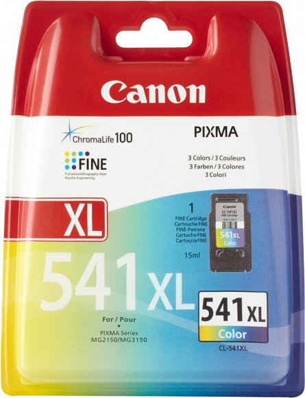 Cartus Canon CL-541XL, color
