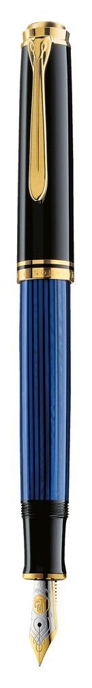 Stilou Pelikan,Souveran,M600,M 14K,negru-albastru,GT