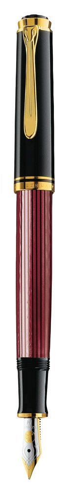 Stilou Pelikan,Souveran,M400,M 14K,negru-rosu,GT