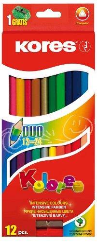 Creioane colorate Kores 12buc cu 24culor