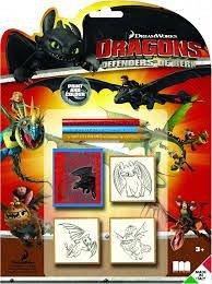 Trusa stampile,3b/set,Dragon