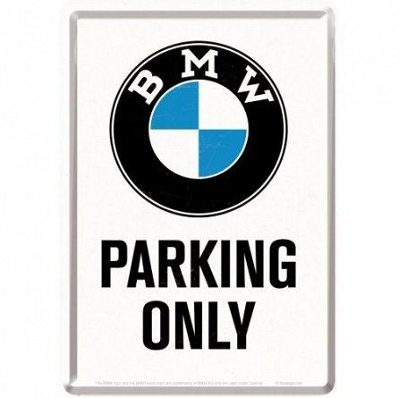 CARTE POSTALA 10269 BMW-PARKING ONLY WHITE
