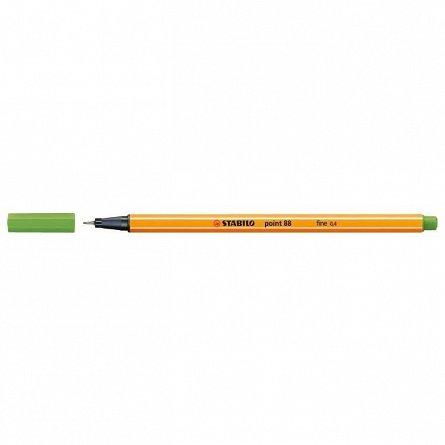 Liner Stabilo Point 88,0.4mm,verde desch