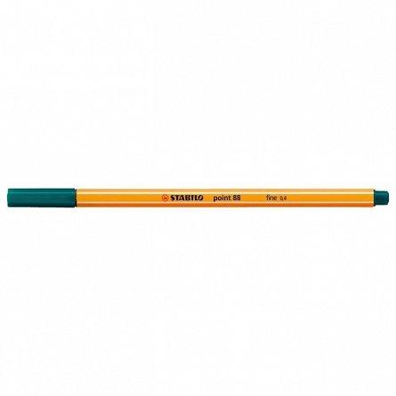 Liner Stabilo Point 88,0.4mm,verde inchi