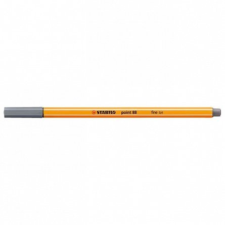 Liner Stabilo point 880.4mm, gri inchis