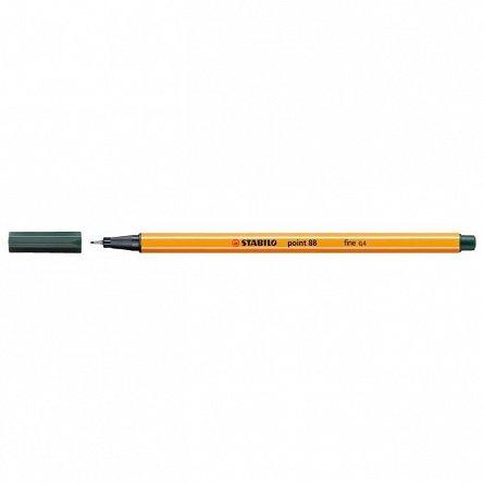 Liner Stabilo point 880.4mm, verde inchi