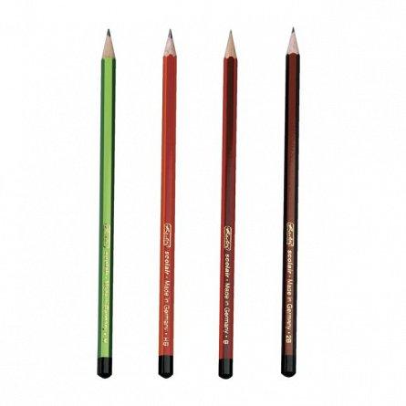 Creion grafit (H,HB,B,2B),4buc/set