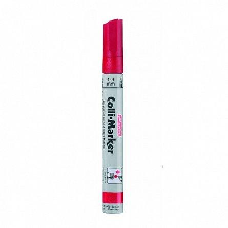 Marker perm.Colli,1-4mm,reincarcabil,rosu