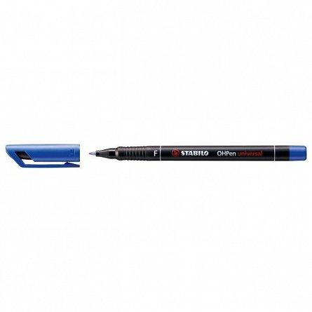 Marker perm.Stabilo OHPen,F,albastru