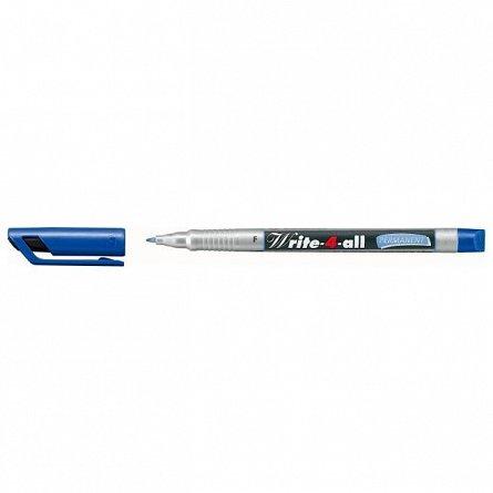 Marker perm.Stabilo Write-4-all,F,albastru