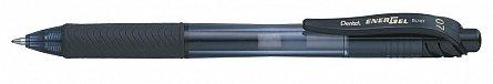 Roller gel Pentel EnergelX cu mec 0.7 mm negru
