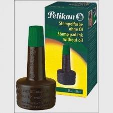 Tus stampila Pelikan, 28 ml, verde