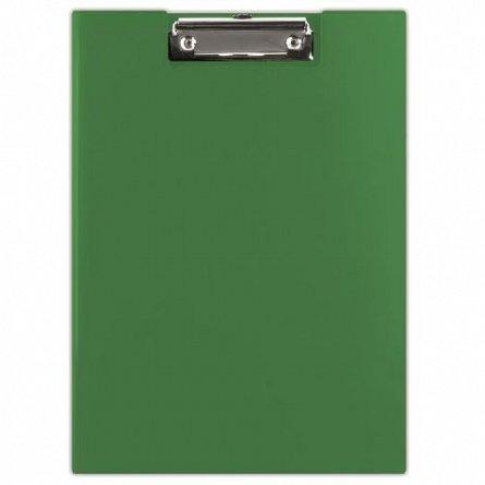 Clipboard dublu A4, Donau, carton platifiat,verde