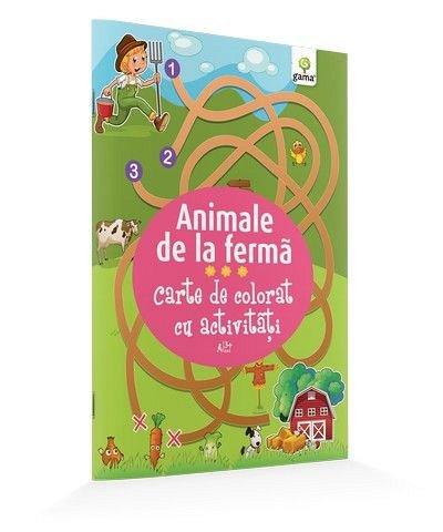 ANIMALE DE LA FERMA/ CARTE DE COLORAT CU ACTIVITATI. 2015