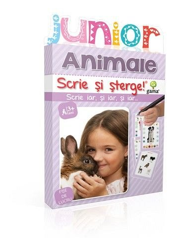 ANIMALE/ SCRIE SI STERGE JUNIOR