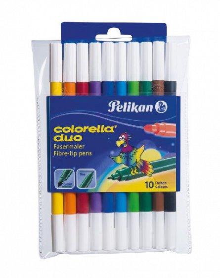 Markere pt copii,10b/s,20cul,Pelikan