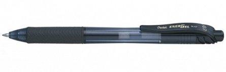 Roller Pentel EnergelX Pastel,0.7mm,negru
