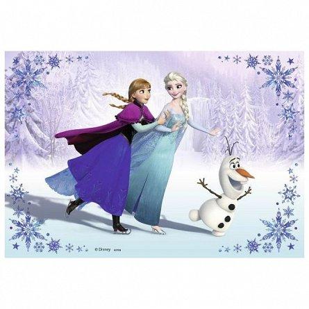 Puzzle Ravensburger - Frozen, surori pentru totdeauna, 2x24 piese