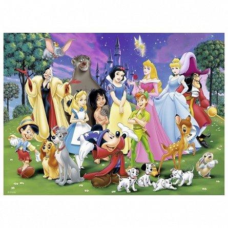 Puzzle Ravensburger - Disney, personajele preferate, 200 piese