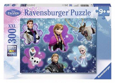 Puzzle Frozen,Regina ghetii,300 pcs
