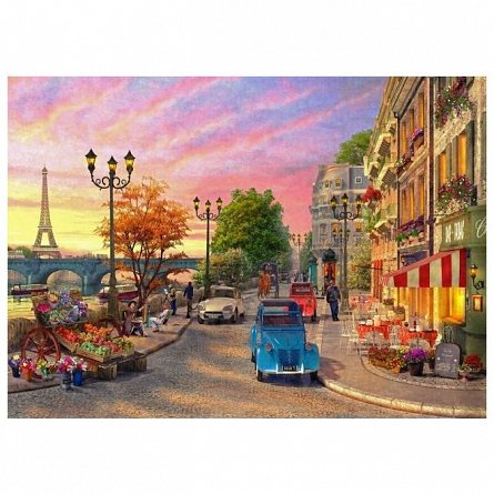 Puzzle Ravensburger - O Seara In Paris, 500 piese