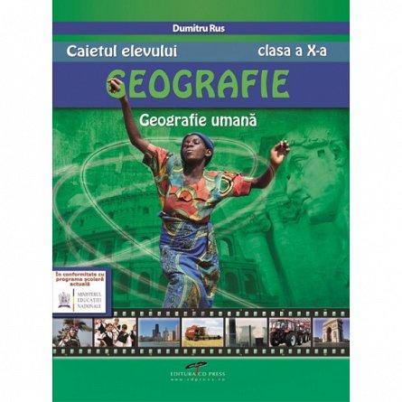 GEOGRAFIE CAIETUL ELEVULUI CL A X A