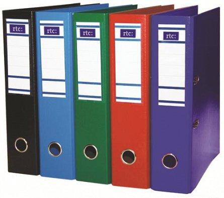 Biblioraft A4, 75 mm, Extra,rosu