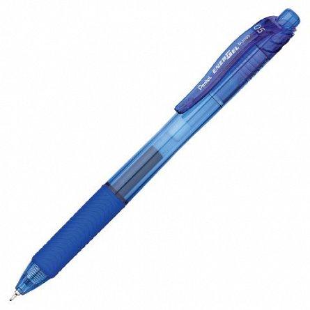 Roller cu gel Pentel,EnergelX,0.5,albast