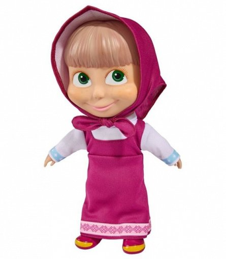 Papusa Masha and the Bear,corp moale,23cm