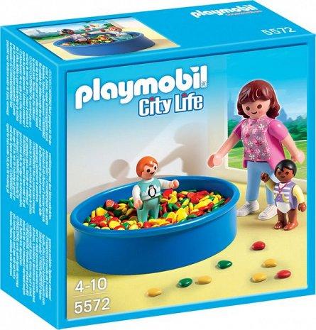 Playmobil-Piscina cu bile