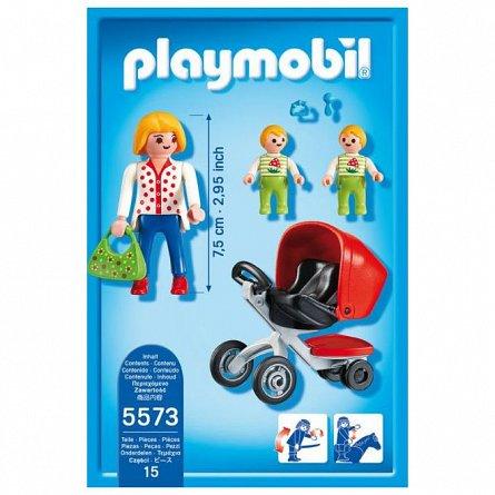 Playmobil-Carucior cu gemeni