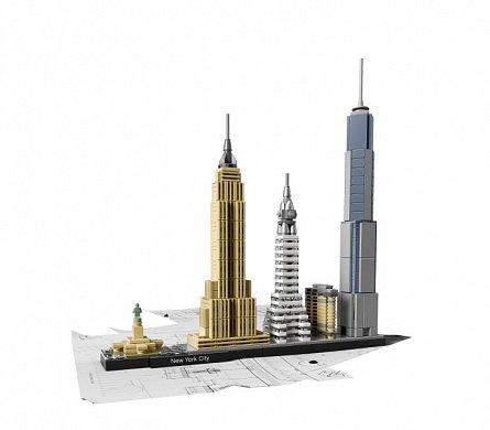 Lego-Architecture,New York