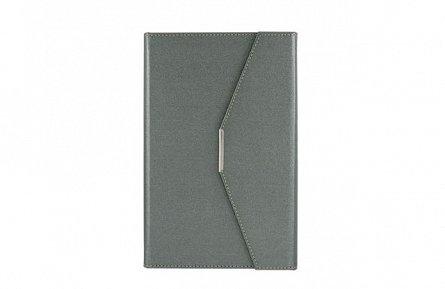 Agenda plic A5,Ultra,122file,grey