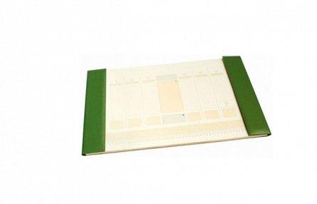 Mapa de birou,38x58cm,kelly green